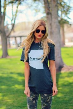 I would love to have this shirt with my home state on it... Made need about five different ones though