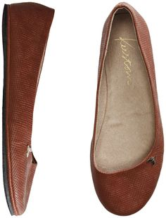 Casual brown flats for jeans? $24