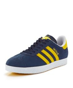 Adidas Originals Gazelle Ii Sun Yellow / Blue