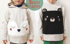 petit à petit and family: DIY bear sweaters