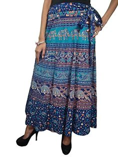 Summer Skirts, Summer Dresses, Wrap Around Skirt, Print Wrap, City Style, News Design, Dress Skirt, Indian, Amazon