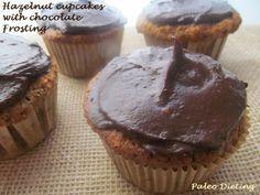 Hazelnut Cupcakes with Chocolate Frosting