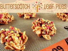 In Katrina's Kitchen: Butterscotch Leaf Piles