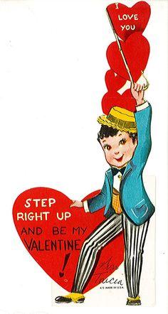 step right up valentine