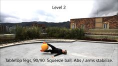 Windshield wiper / Supine Rainbow Core Exercise | Marina Aagaard, MFT
