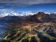 View from Aineck to Katschberg pass Berg, Austria, Mount Everest, Cool Pictures, Travelling, Beautiful Places, To Go, Spaces, Explore