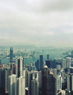 Hong Kong vista do alto! UAU! De tirar o fôlego!