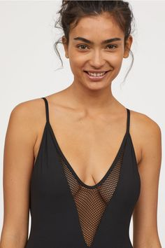 Costum de baie - Negru - FEMEI | H&M RO 2