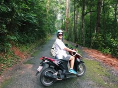 Give me adventure for the rest of my life. Riding in the mountains of Chiang Mai Scooter Girl, Chiang Mai, Bangkok, Of My Life, Give It To Me, Rest, Adventure, Photo And Video, Mountains