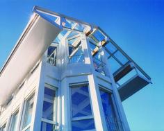 Ampliamento di abitazione unifamiliare, Paolo Albertelli, Mariagrazia Abbaldo. Ferris Wheel, Fair Grounds