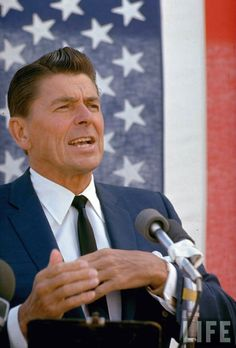 Ronald Reagan, Love him or Hate him, the 80's Greatest Icon.