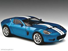 Ford Shelby GR-1 Concept - in cool blue - heh heh