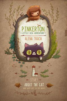A pequena grande aventura de Pinkerton por Alena Tkach