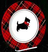 scottie plate...I bought some of these.