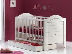 Lit évolutif 70 x 140 et son tiroir de lit ! EN PROMO sur www.nuitdange.fr ! 1/2