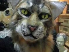 Tabby Ragdoll or Maine Coon Cat mask fursuit head! Cat Fursuit, Fursuit Head, Epic Cosplay, Cosplay Costumes, Disney Costumes, Halloween Costumes, Fursuit Tutorial, Cat Mask, Costumes
