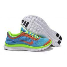 the best attitude fa3dd cf8ee Nike Free 3.0 Frauen Schuhe Dunkelrosa Silber Blue Sneakers, Women s  Sneakers, Sneakers Fashion,