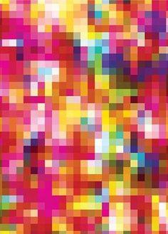 mini-fondos de escritorio / Cartel - Pixel Patrón ed