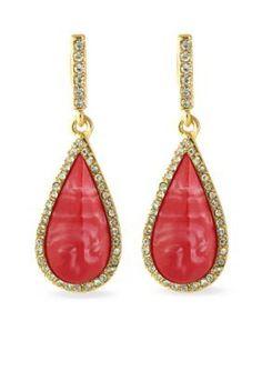 Karen Kane  Coronado Teardrop Earrings