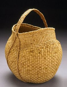 Willow Bark Basket by Jennifer Zurick