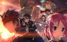 SAO main characters by MOOJAKOK.deviantart.com on @deviantART