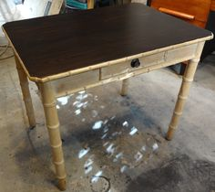 Furniture Refinishing - Bamboo Table - Los Angeles, CA (San Fernando Valley)