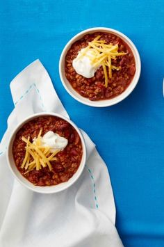 Beef and Lentil Chili - WomansDay.com