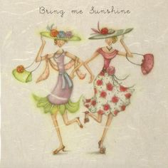 Bring Me Sunshine Female Birthday Card Berni Parker Designs
