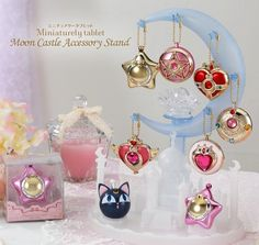 Accessory Stand Provides Perfect Place for Hanging Sailor Moon Charms - Interest - Anime News Network