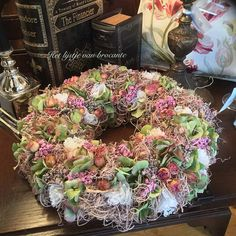 Homemade wreath....by Silvia Hokke