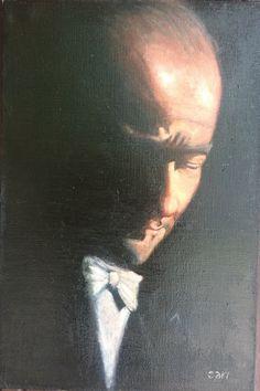Mustafa Kemal Atatürk 60 x 40 cm oil on canvas With permission Rüzgar Fidan