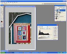 Basic photo editing using PS