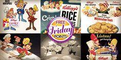 Posh Frugal Chic: Kellogg's Family Rewards - Free Points Friday (6/27) #KFR