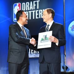 Wolves win NBA lottery for rights to top pick; Lakers get No. 2, 76ers No. 3