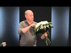 Hydrangea workshop by top florist Gary Loen - YouTube