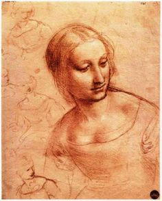 Leonardo da Vinci: Study for Madonna with the Yarnwinder