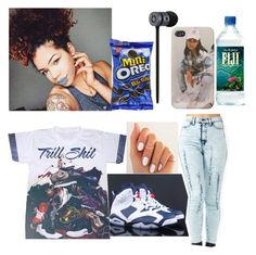"""Chillin"" by justthatregularog on Polyvore"