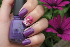 Cheshire Cat Manicure by Coewless Polish