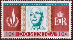 Dominica 1968 SG 209 Human Rights Year Fine Mint Scott 206 Other Dominica Stamps HERE