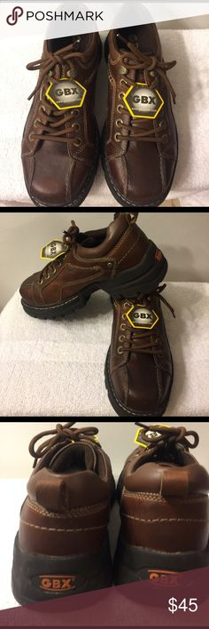 GBX Leather Lace-Up NWOT Size 8M $45 GBX brown Leather Lace-Up Shoe NWOT $45 GBX Shoes