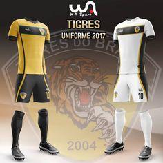 Camisas do Tigres do Brasil 2017 Wasport