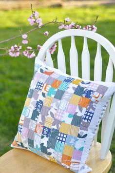 Glimma Pillow by a crafty fox ~ amanda, via Flickr
