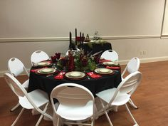 Fabulous Holiday Table created and hosted by Austin Garcia and Kacey Creech.