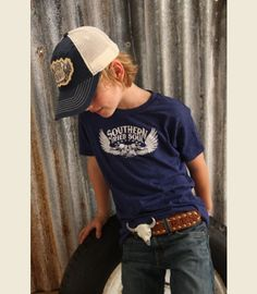 This website has really cool stuff. Affordable too! SOUTHERN FRIED SOUL KIDS - Junk GYpSy co.