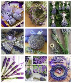 Craft ideas using lavender Lavender Wands, Lavender Crafts, Lavender Bouquet, Lavender Sachets, Lavender Flowers, Dried Flowers, J Craft, Craft Ideas, Crafts To Sell