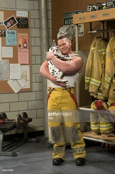 John Cena as Bill during the 'Firemen' sketch on June 14, 2016 --