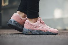 PUMA R698 WINTERIZED Coral Gray