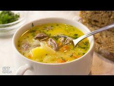 Бесподобный Сырный Суп с Куриными Сердечками! Всегда Вкусно! Рецепт! - YouTube