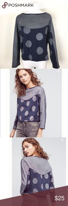 "ANTHROPOLOGIE Postmark Sweat Shirt Top This top is brand new with tags and in excellent condition! 89% cotton 7% nylon 4% metallic. Wide Crop style. 26"" across the bust. 20"" long. Non-smoking pet free home.                                                                                🔹suggested user🔹fast shipper🔹                                   🔸bundle to save 20%🔸300+ items🔸 Anthropologie Tops Sweatshirts & Hoodies"