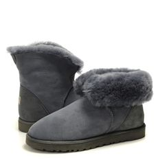 Grey UGG Boots Classic Mini 5845 Boot for Womens